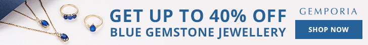 Up to 40% Off Blue Gemstone Jewellery at Gemporia.com