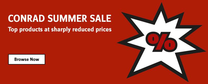 Conrad Summer Sale 2018
