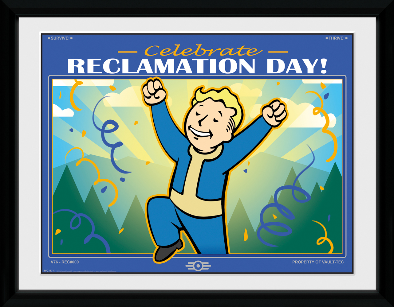 Fallout 76 reclamation day print