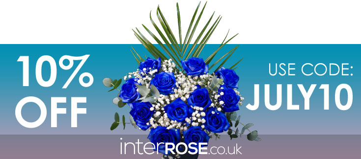 Save 10% at interROSE.co.uk - Discount Code