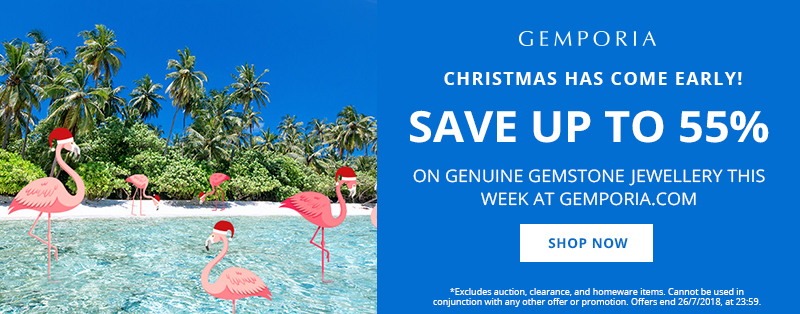 Christmas In July at Gemporia.com | Up to 55% Off!
