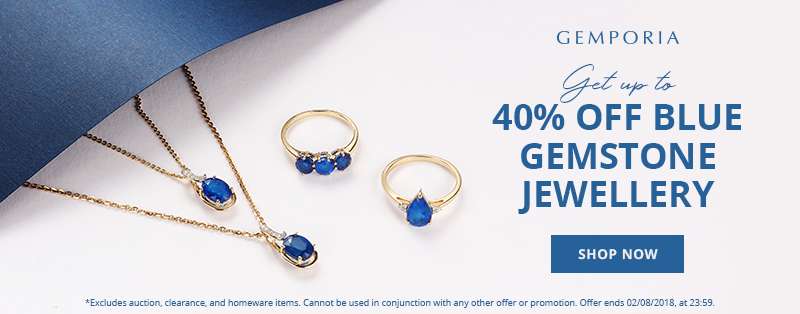 Up to 40% Off Blue Gemstone Jewellery at Gemporia.com
