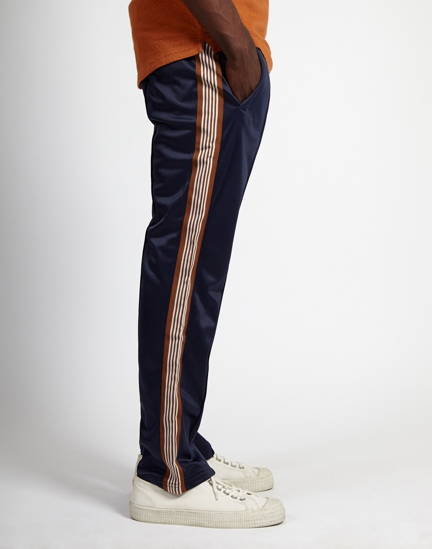e45a6c0d10 The Idle Man -Striped Track Pant Navy - £32.00