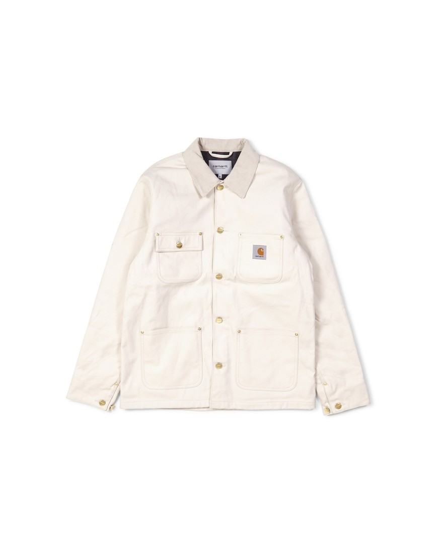 the hub clothes Biblical Clothing carhartt wip michigan coat off white 154 00
