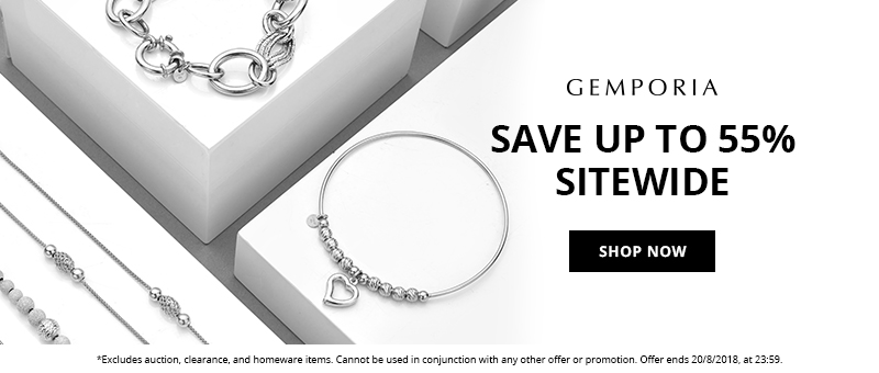 Get Up to 55% Off This Weekend at Gemporia.com