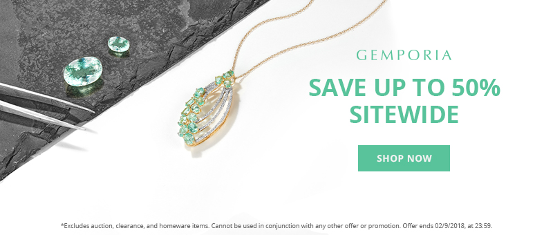 Save up to 50% Sitewide at Gemporia.com This Weekend