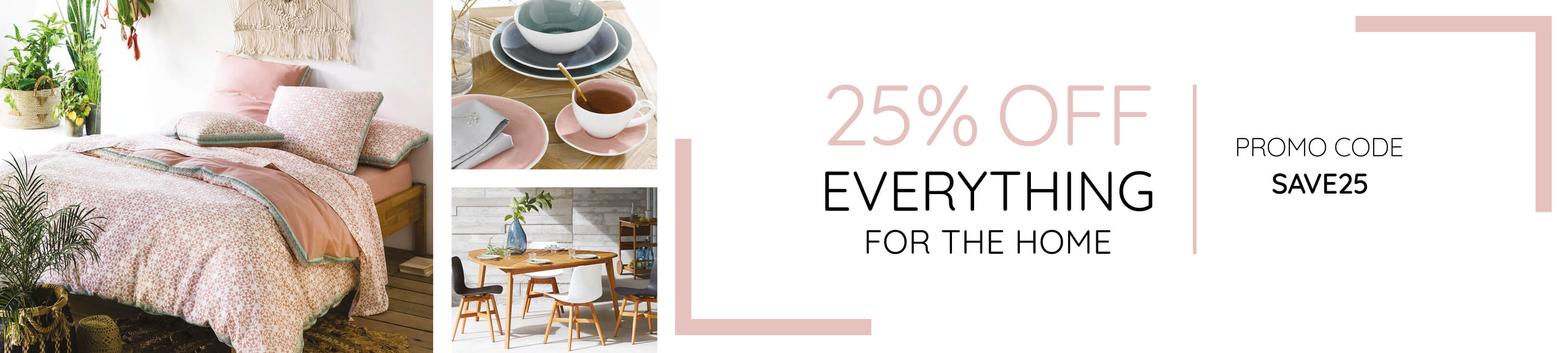 25% off everything code at La Redoute