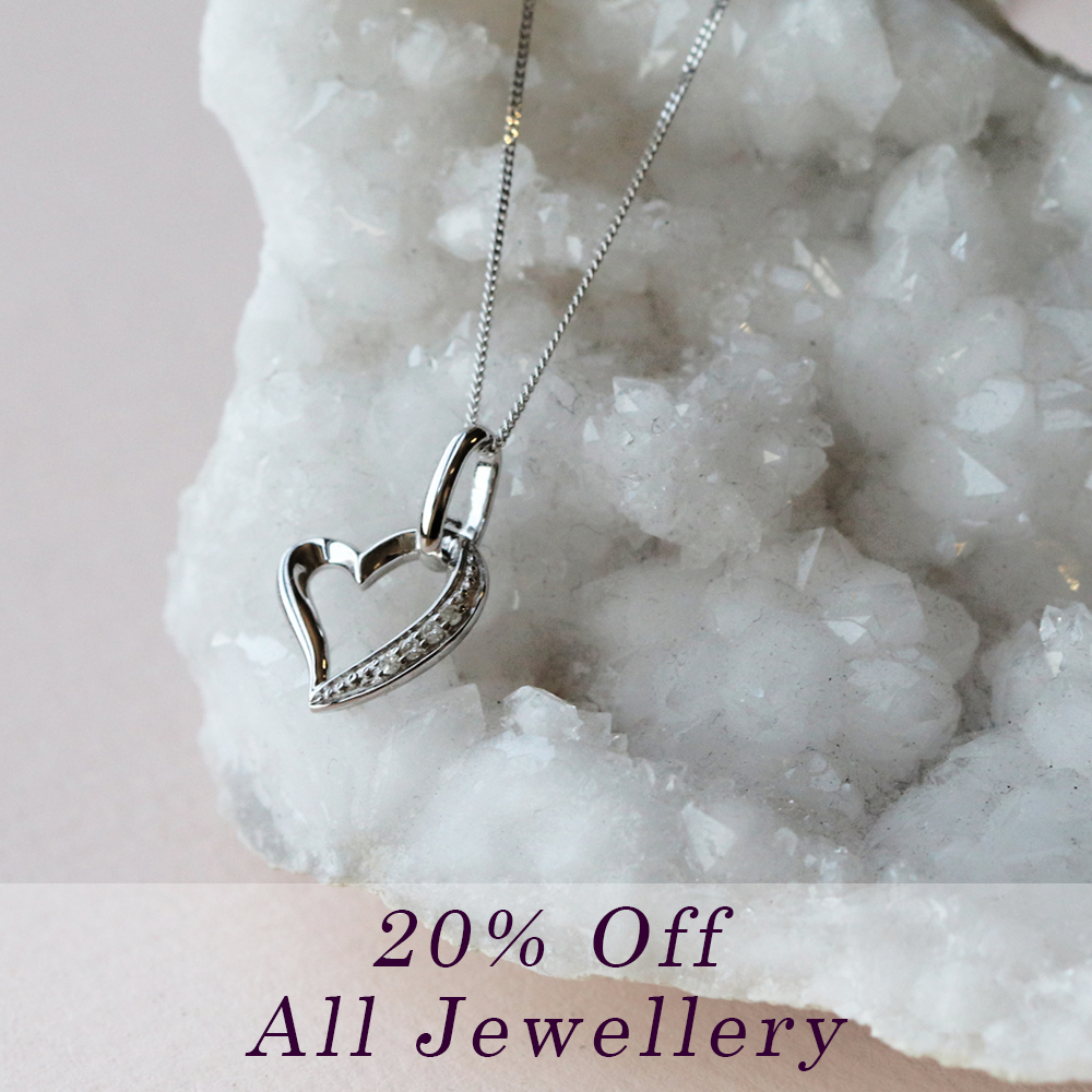 20% off all jewellery