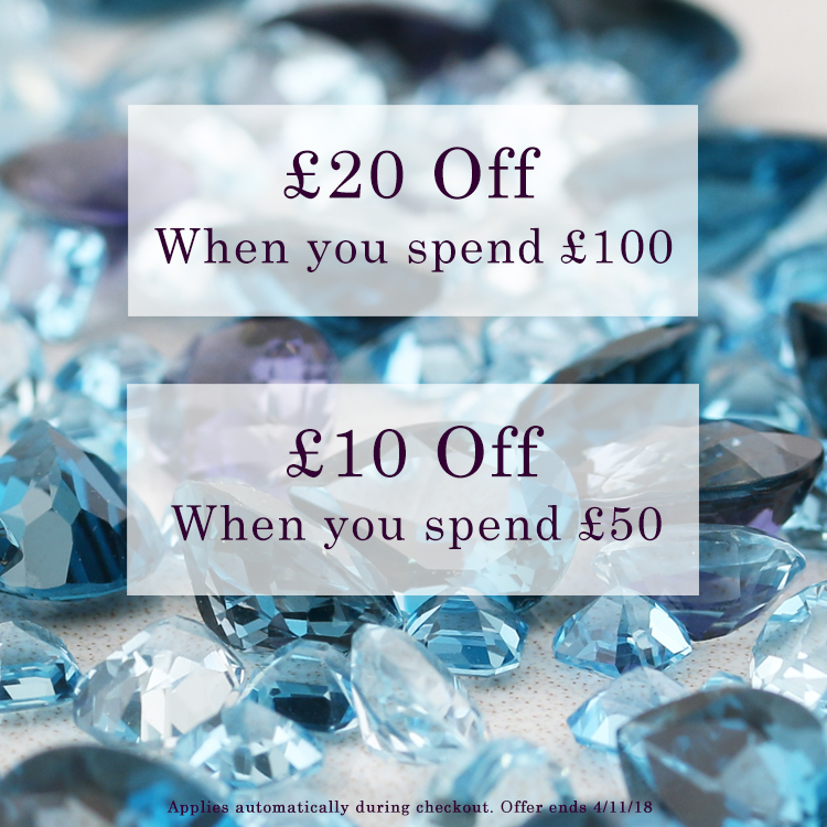 Save when you spend at Gemondo jewellery