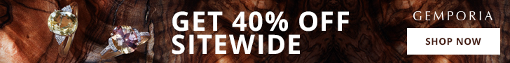 Get 40% Off Sitewide This Weekend at Gemporia.com