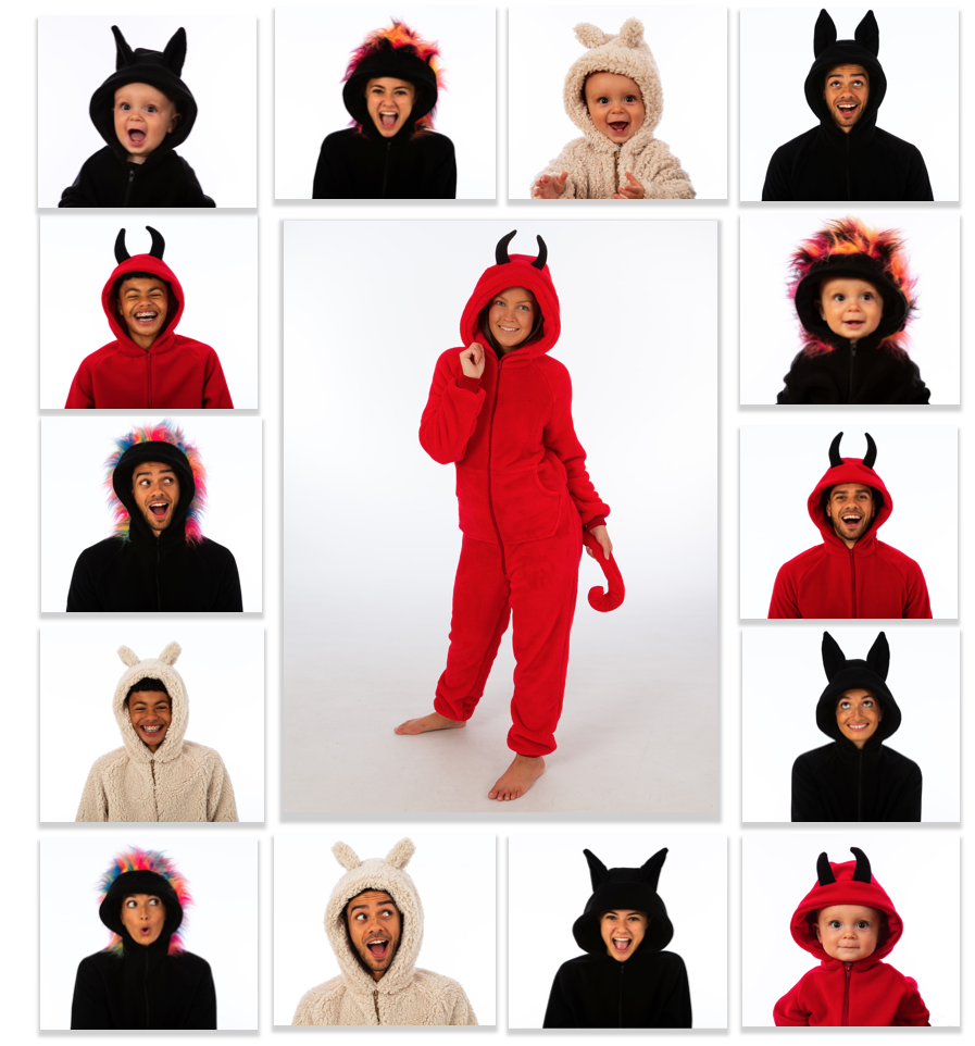 Halloween Onesies  Bespoke The All-in-One Company
