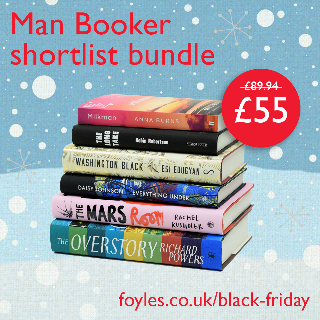Black Friday offer: Man Booker shortlist bundle at £55