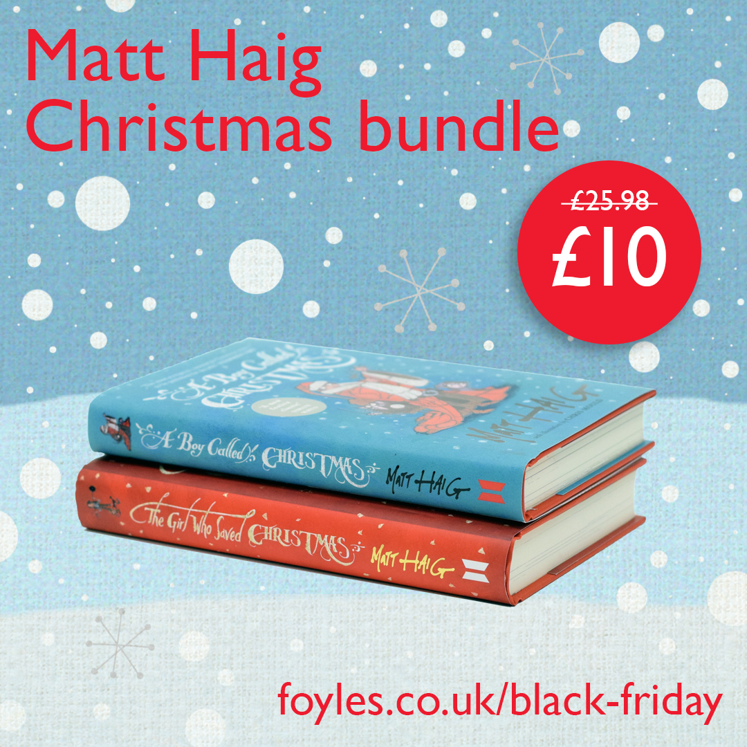 Black Friday offer: Matt Haig bundle at £10