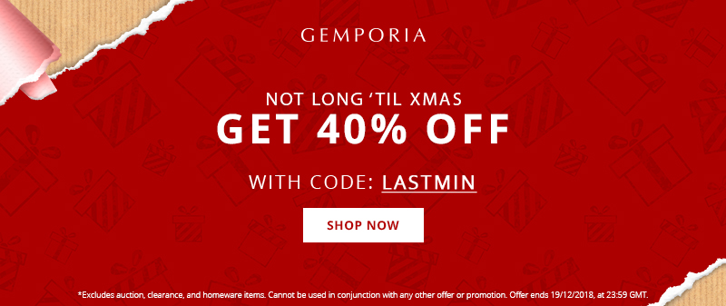 Get 40% Off at Gemporia This Week!