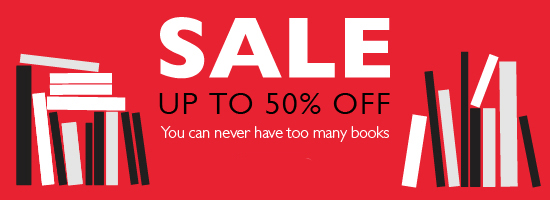 Books at up to 50% off at Foyles!