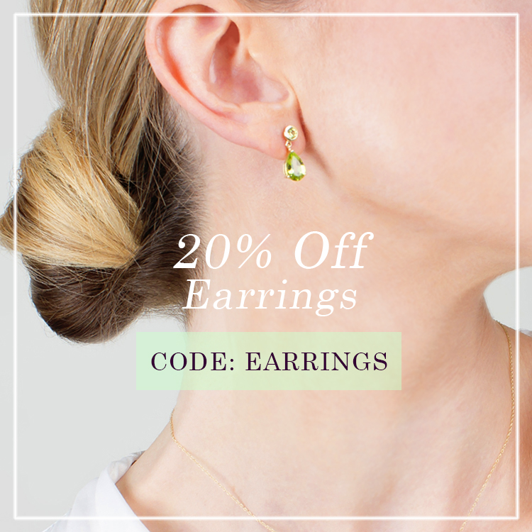 20% off earrings at Gemondo jewellery