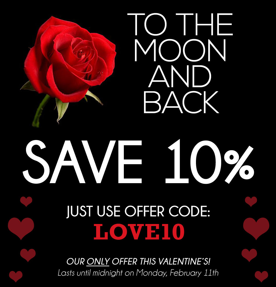 interROSE.co.uk - Valentine's Day Roses - Save 10%