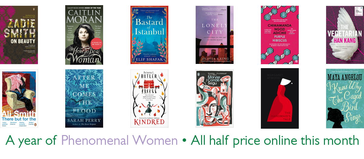 12 half price books by female authors at Foyles