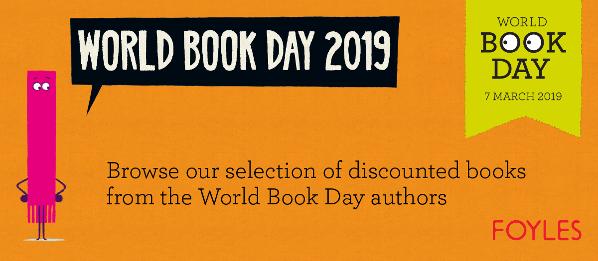 Promote the Foyles selection of discounted children's books for World Book Day