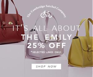 25% Off The Emily - The Cambridge Satchel Company