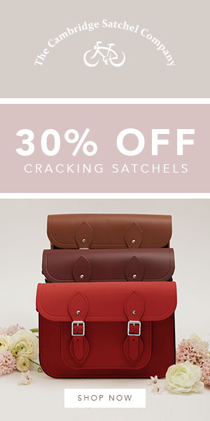 30% OFF SATCHELS AND FREE GLOBAL DELIVERY! The Cambridge Satchel Company
