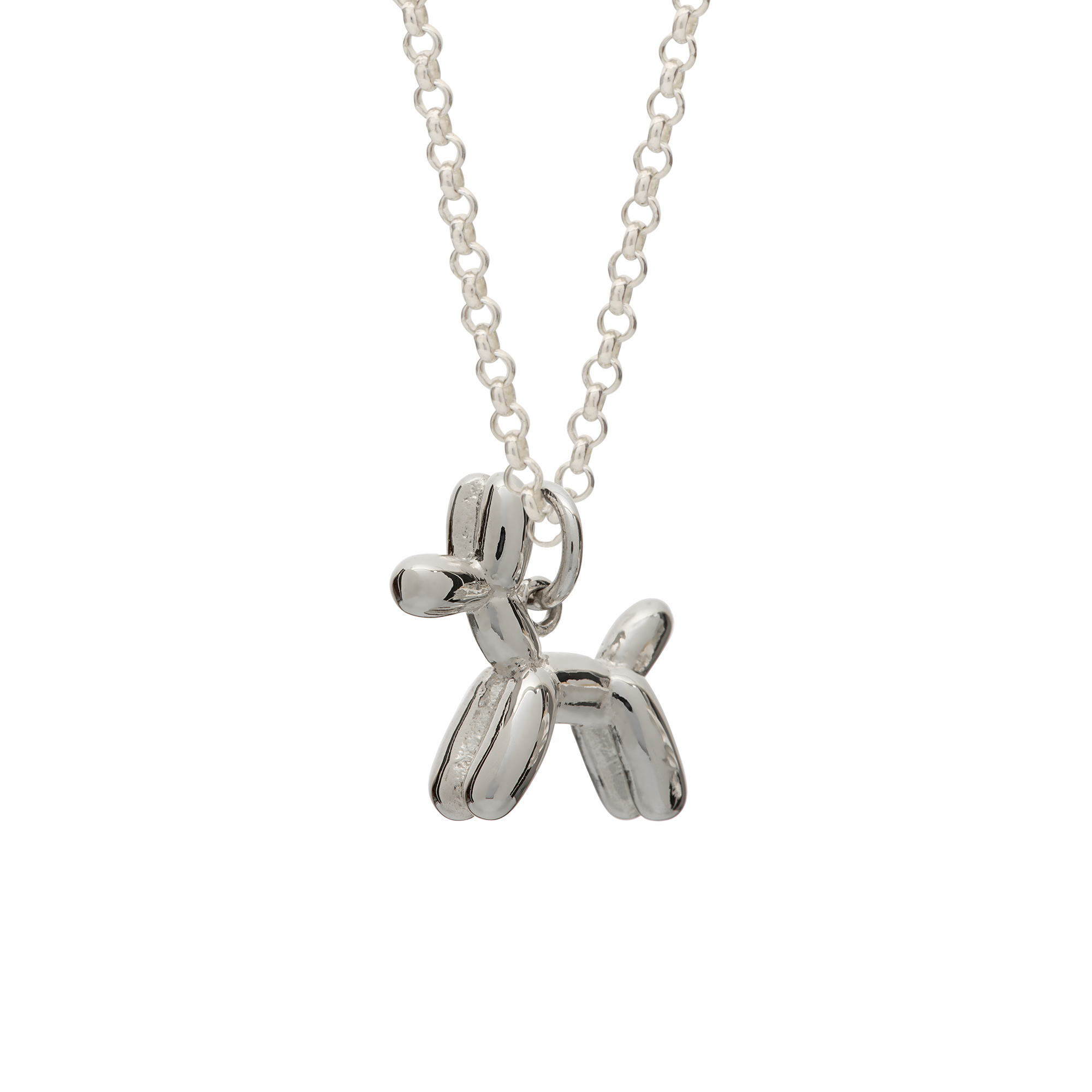 Balloon Dog Necklace by Lily Charmed