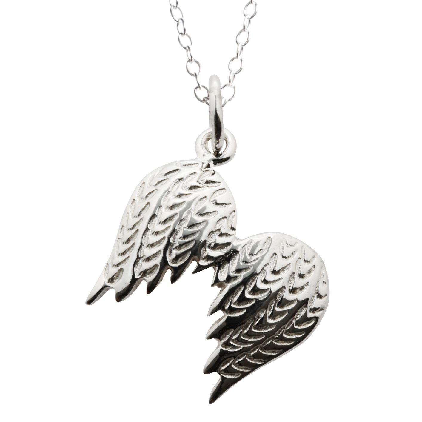 Large Angel Wings Necklace by Lily Charmed
