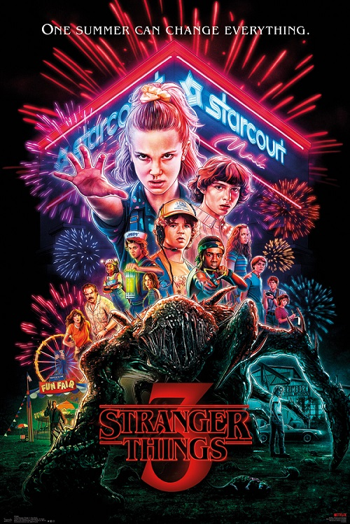 Stranger Things 3 one sheet