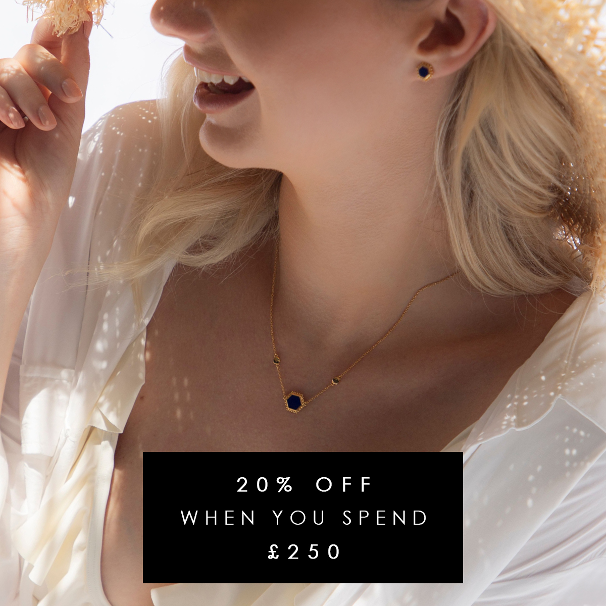 Save 20% when you spend £250 at Gemondo jewellery