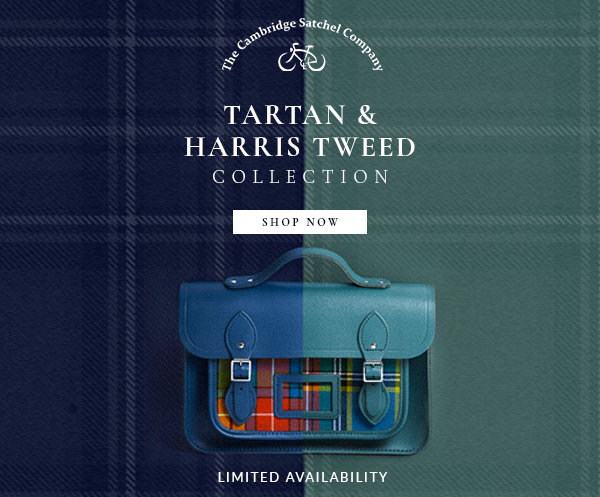 Tartan & Harris Tweed Collection | The Cambridge Satchel Company
