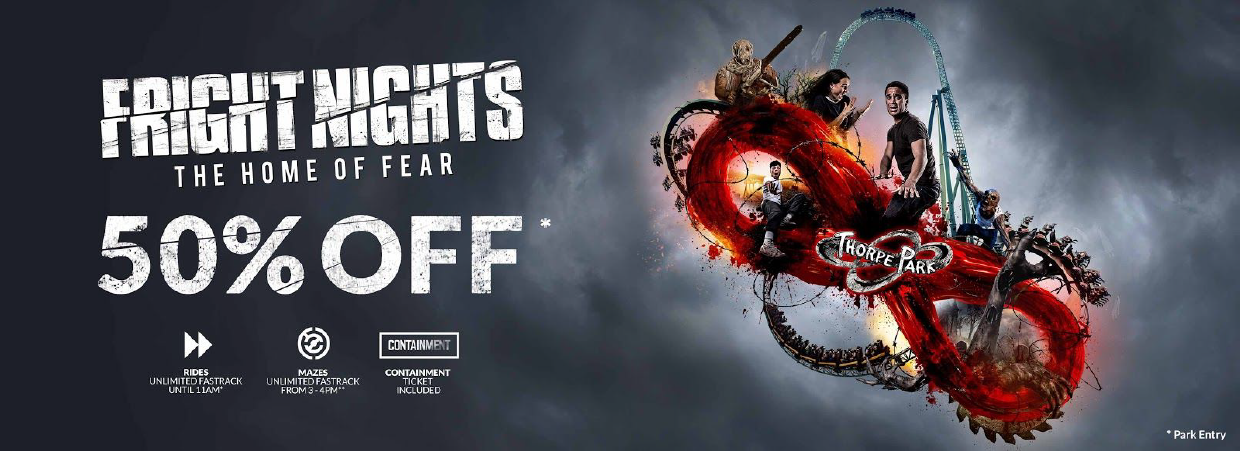 Thorpe Park fright night