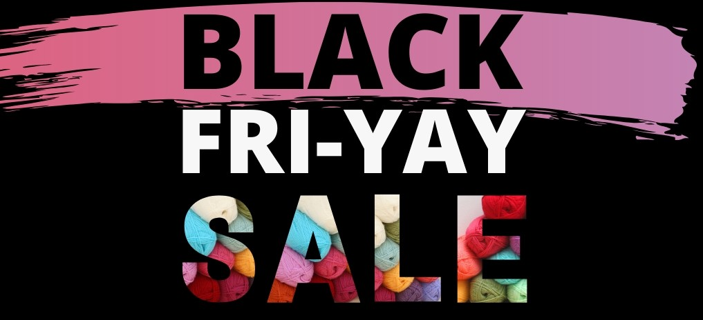 Black Friday Sale Yarn