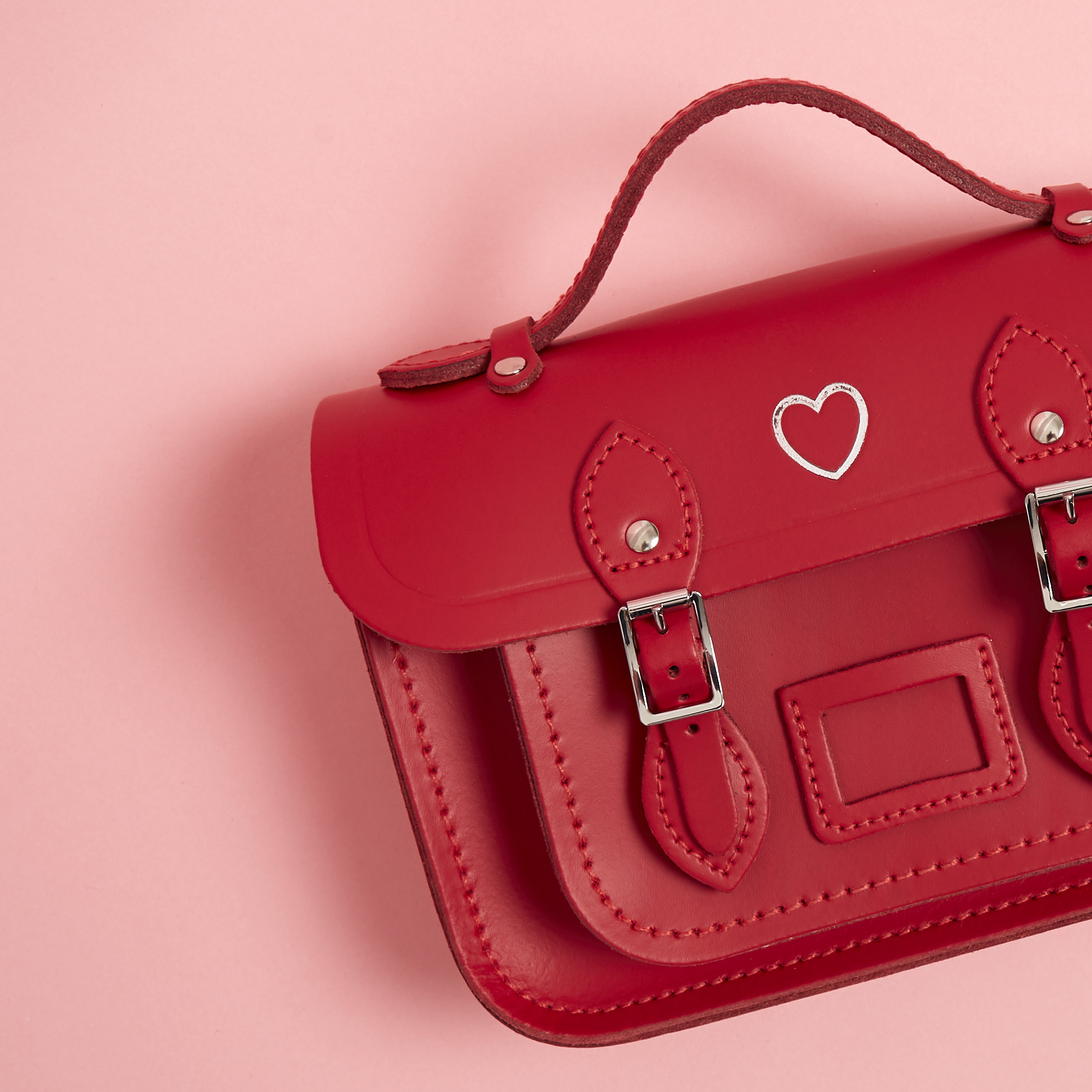 20% Off Red Bags The Cambridge Satchel Company
