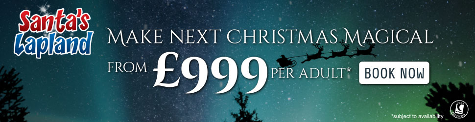 Make next Christmas magical with Santa's Lapland