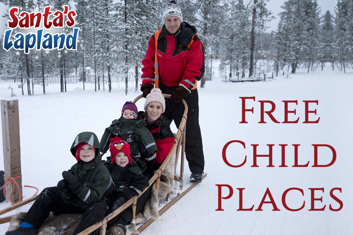 Free Child Places Santa's Lapland
