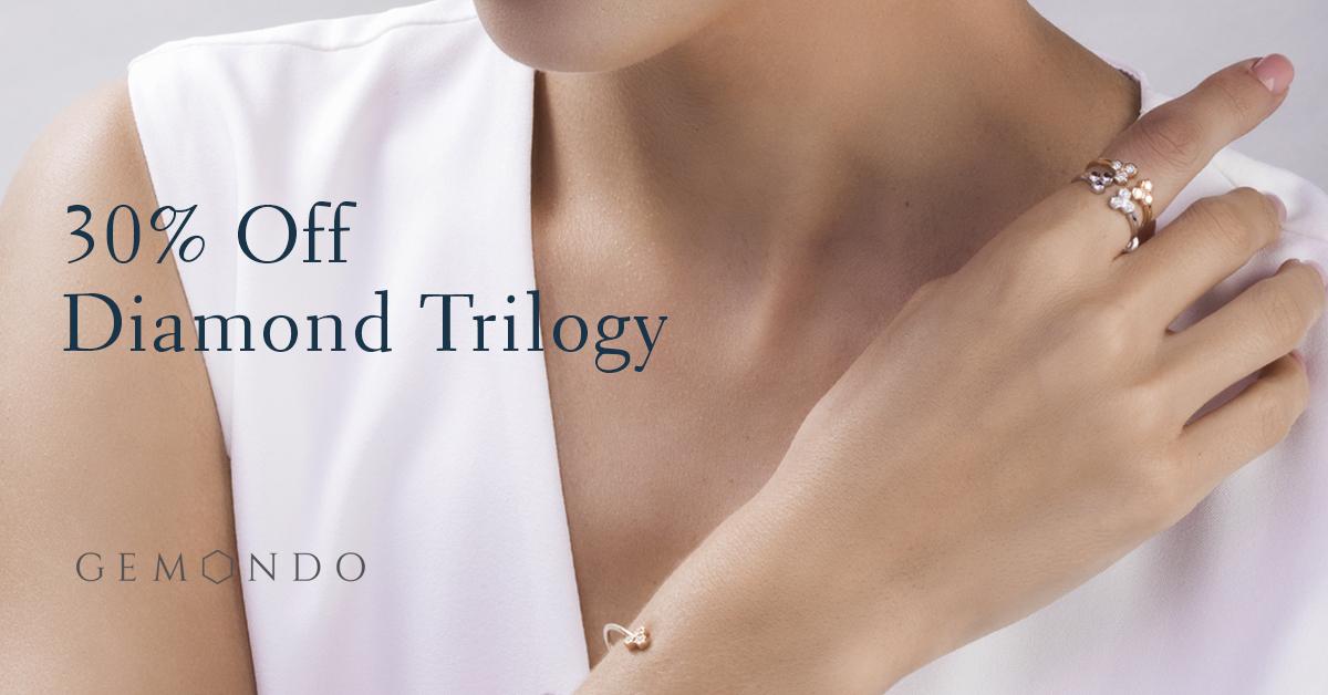 Save on Diamond Trilogy jewellery
