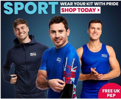 Help for Heroes - Sport