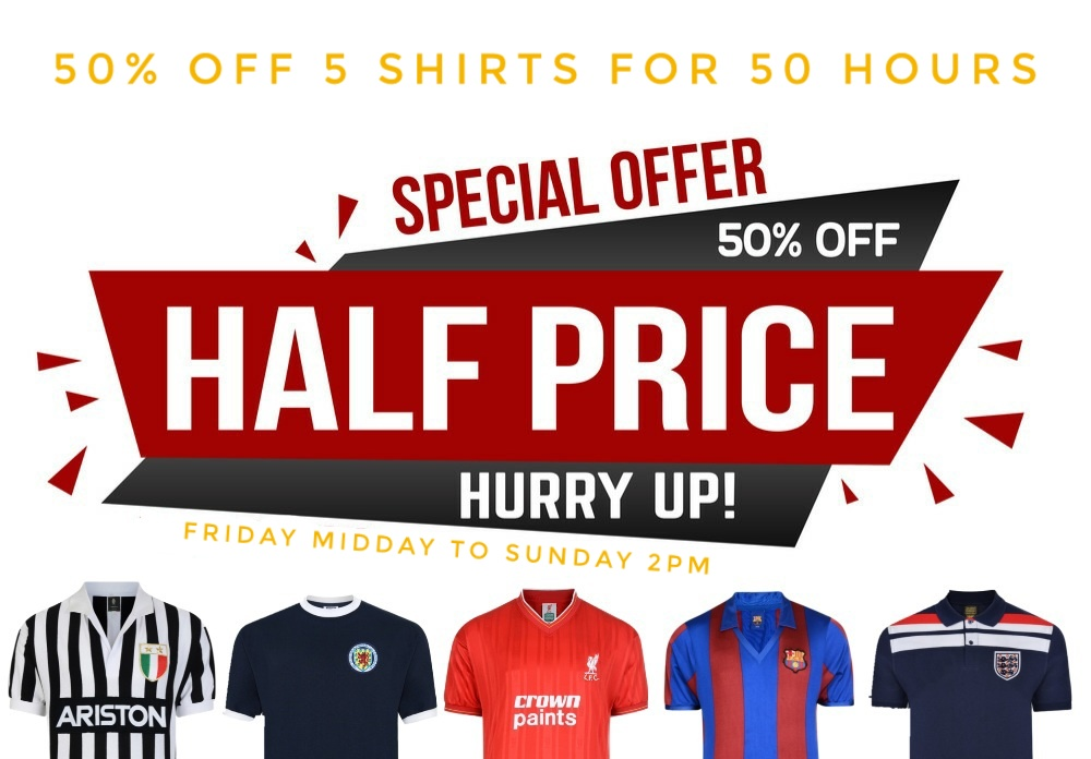 half price shirts