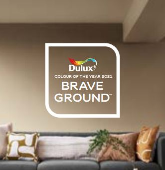 Dulux Colour of the Year 2021 - Brave Ground
