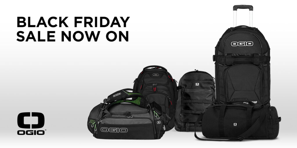 The OGIO Black Friday Sale is now on.