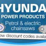 Hyundai Chainsaw Discount Code