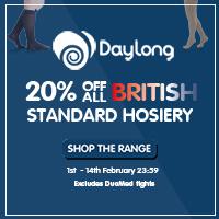 20% Off British Standard Hosiery