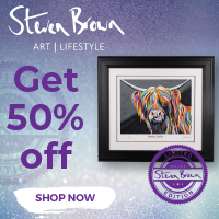 50% OFF Steven Brown Art Platinum Prints
