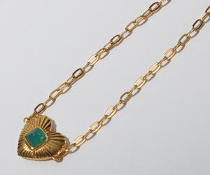 Gemondo Queen of Hearts Chalcedony Bracelet